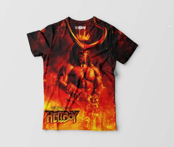 Hellboy Graphical Movie Tshirt