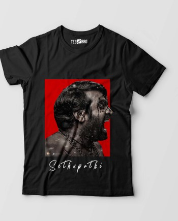 Vijay Sethupathi Angry Look Master Movie Tshirt