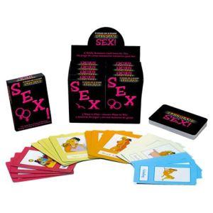 Lesbian Sex! Card Game