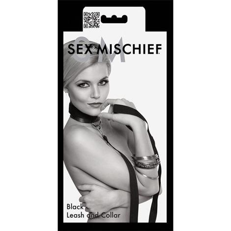 S&M Leash & Collar: Black