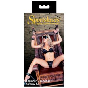 Sportsheets Beginners Bondage Fantasy Kit