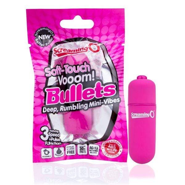 Screaming O Soft Touch Vooom Bullets - Blue