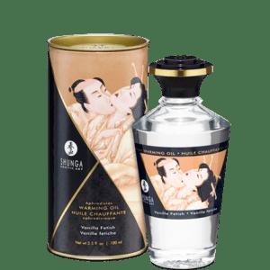 Shunga Warming Aphrodisiac Oil - Vanilla Fetish