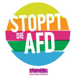 Stoppt die AfD - Aufstehen gegen Rassismus