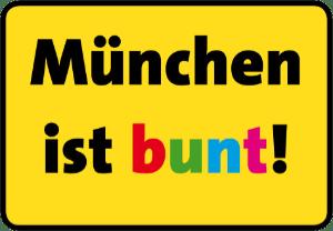 München ist bunt Logo