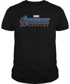Marvel Avengers Endgame Circle Logo Graphic Shirts