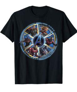 Marvel Avengers Endgame Circle of Heroes Graphic T-Shirt