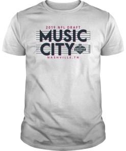 2019 NFL Draft Music City Nashville Classic T-Shirts