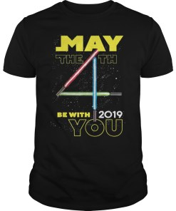 Star Wars May The 4th Be With You 2019 Lightsabers T-Shirts