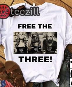 Free The Three Rob Zombie T-Shirt