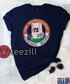 Chicago 1980 Shirt Vintage 1980s Chicago Bears Refrigerator Perry T-Shirt