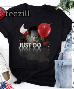 Nike Pennywise Just Do IT Halloween Shirt