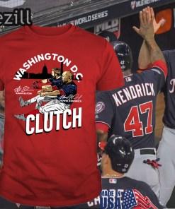 D.C - Adam Eaton Howie Kendrick Clutch T-Shirt