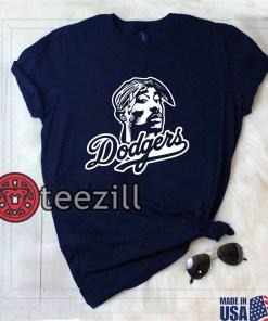 Dodgers Tupac Shakur, Los Angeles, béisbol, T-Shirt