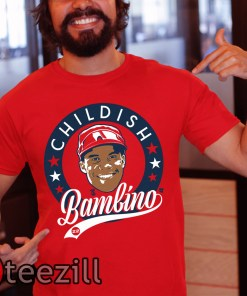 Juan Soto Shirt Childish Bambino Tshirt Unisex