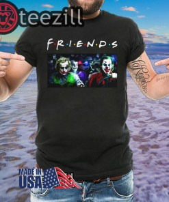 Men's Joker Team driving car Friends TV Show TShirt Unisex