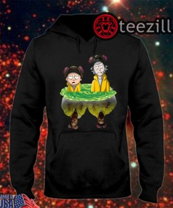Men's Rick And Morty Water Mirror Breaking Bad T-Shirt Hoodies