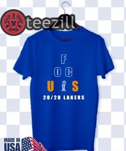Focus 20/20 Lakers Shirt