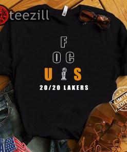Los Angeles Lakers Focus 20/20 Lakers Shirt