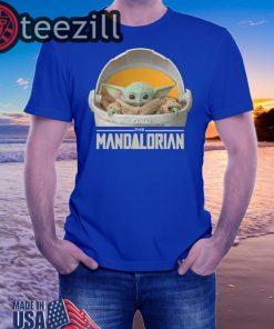 Baby Yoda 'Mandalorian' Merch Is Here Tshirt