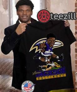 Baltimore Ravens Lamar Jackson Shirts