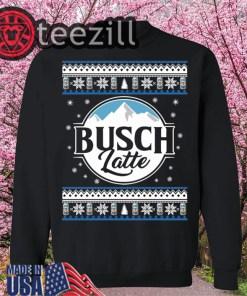 Busch Light Beer Christmas Ugly Hoodies Tshirts