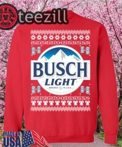 Busch Light Christmas Sweater TShirt