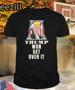 Get Over It Trump Won Campaign Quid Pro Quo Admission 2020 TShirt