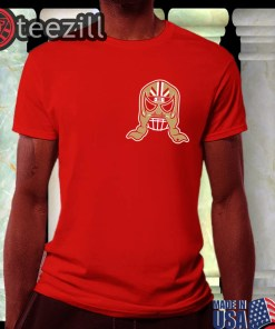 Logo George Kittle Lucha Mask T-Shirts Officially Lucha Mask