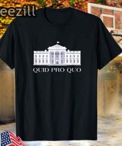 Quid Pro Quo -Copyright 2019 FITO- T-Shirt