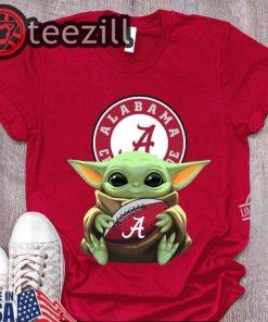 Alabama Logo & Baby Yoda Shirt