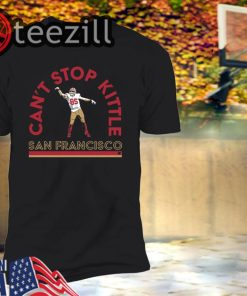 Can't Stop George Kittle Shirt Limited Edition Officiall