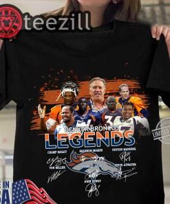 Denver Broncos Legends Signature Tee