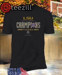LSU Tigers 2019 SEC Football Champions T-shirts