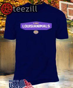 Logo LSU Louisianimals Shirts