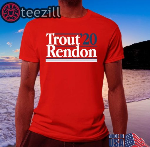 Mike Trout Anthony Rendon 2020 Shirt Classic T-Shirts