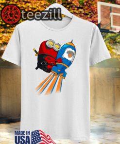 NBA Basketball New York Knicks Deadpool Minion Marvel T-Shirts