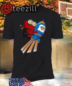 NBA Basketball New York Knicks Deadpool Minion Marvel T-Shirt