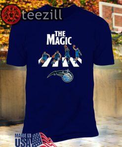 NBA Basketball Orlando Magic The Beatles Rock Band T-Shirt