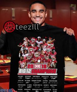 Players Team 2019 Big Ten Conference Champions Player Shirts