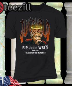 Rip Juice Wrld 1998 2019 Thanks For The Memories Shirt