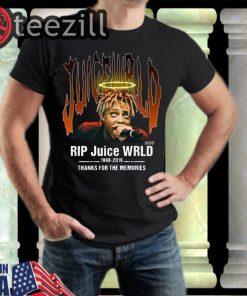 Rip Juice Wrld 1998 2019 Thanks For The Memories TShirt