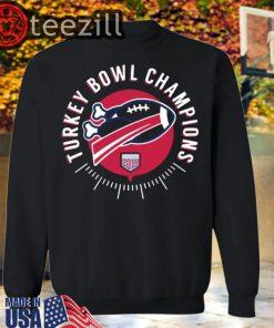 Turkey Bowl Champions 2019 TShirts