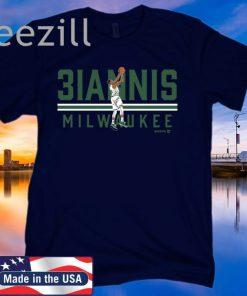 3IANNIS Shirt - Milwaukee Basketball T-Shirt