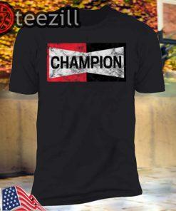 Champion Motor Sports Retro Spark Plug Unisex T Shirts