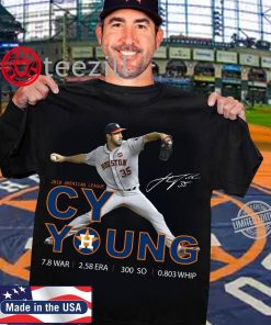 Cy Young 2019 American League Signature TShirt