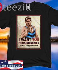 I Want You For Running Man Nearest Recruiting Station 2020 T-Shirts
