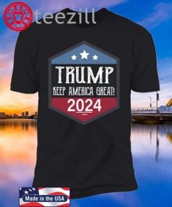 Keep America Great Shirt Donald Trump 2020 - 2024 T-Shirt