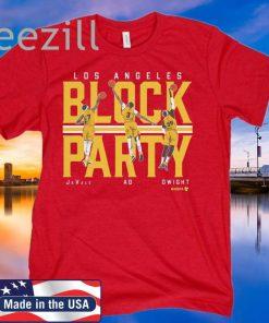 LA Block Party T-Shirt - LA Basketball