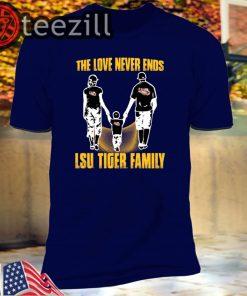 LSU Tigers - Like family - LSU Tigers family T-Shirts